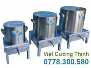 Bộ nồi điện nấu phở, nồi hầm xương bằng điện, nồi nấu hũ tiếu bằng điện sản xuất Inox Việt Cường Thịnh.