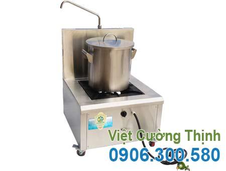 Nồi nấu phở bằng ga, nồi hầm xương bằng ga, nồi nấu hủ tiếu bằng ga, bếp ga nấu phở sản xuất Inox Việt Cường Thịnh.