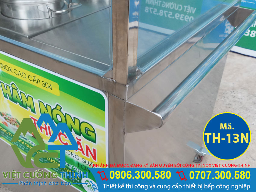 Tủ hâm nóng thức ăn sản xuất Việt Cường Thịnh với thiết kế thông minh và gia công tỉ mỉ .