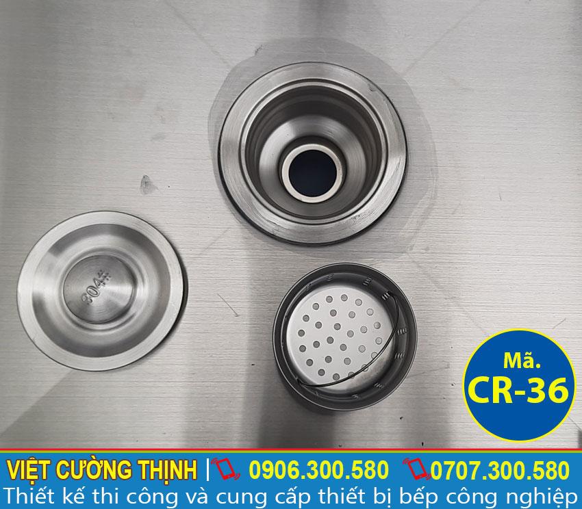 Hệ thống xi phông thoát nước sản xuất inox 304.
