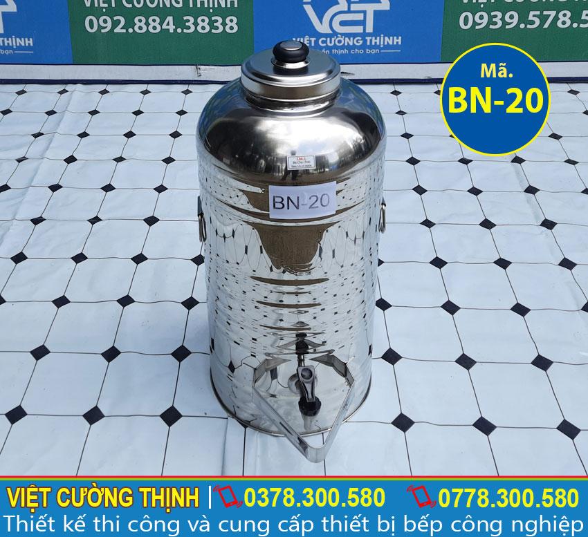 Bình nước đá inox, bình đựng nước đá inox có vòi gạt là thiết bị để chứa nước uống, nước sạch...