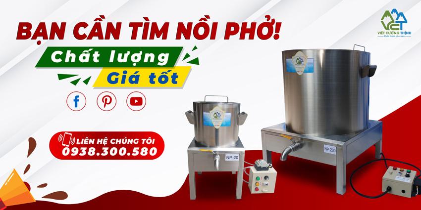 Việt Cường Thịnh - Đơn vị cung cấp và sản xuất nồi nấu hủ tiếu điện tại TPHCM và các quận huyện.