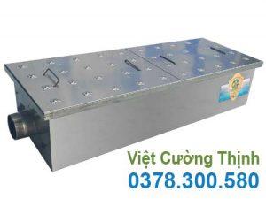 Bể tách mỡ âm sàn 125 lít, bẫy mỡ âm sàn 125 lít, thùng lọc mỡ, thiết bị lọc mỡ