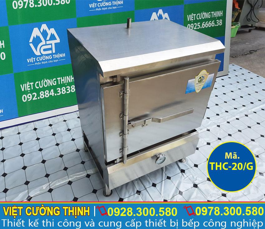 Hình ảnh tủ nấu cơm công nghiệp 20 kg bằng gas   Tủ hấp cơm 20 kg bằng gas.