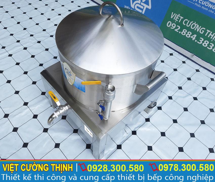 Ống cấp nước bên ngoài và đo mực nước của nồi hấp bánh bèo bằng điện | Nồi hấp bánh bò bằng điện