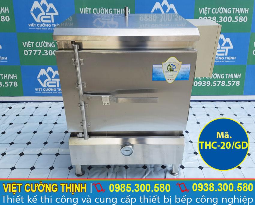 Mẫu tủ nấu cơm công nghiệp   Tủ hấp cơm công nghiệp   Tủ cơm công nghiệp 20 kg gas và điện.