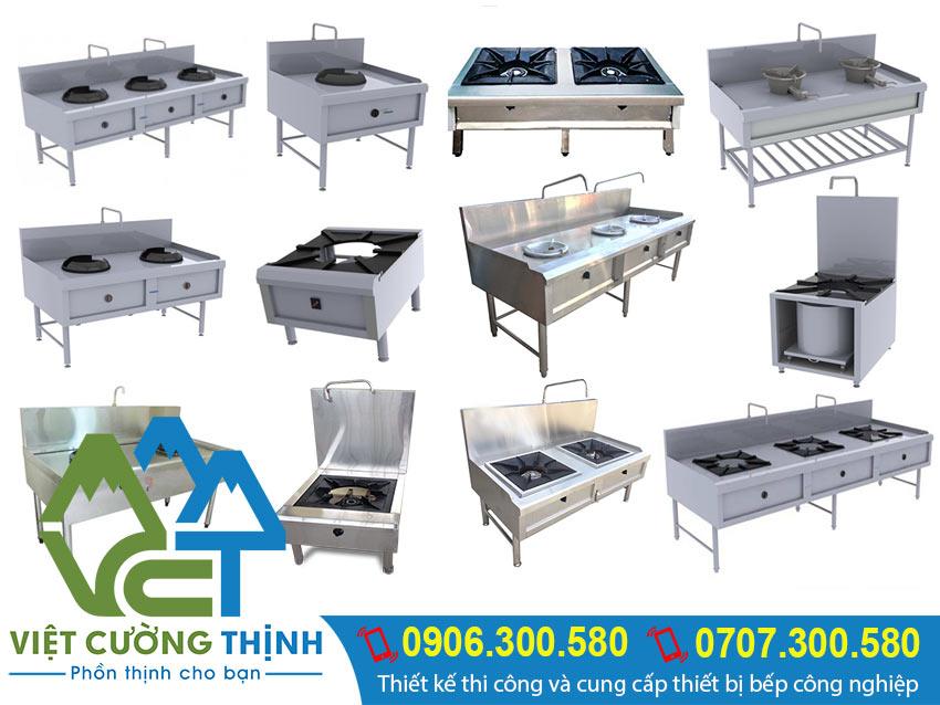 Việt Cường Thịnh - Đơn vị thi công và thiết kế bếp công nghiệp theo nguyên tắc 1 chiều