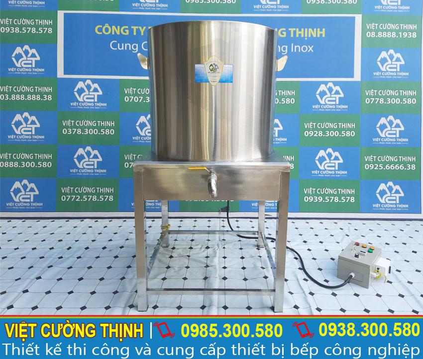 Báo giá nồi nấu nước sôi bằng điện, nồi đun nước sôi công nghiệp.