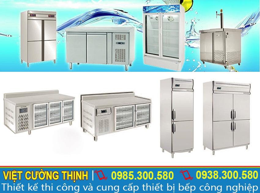 Tủ lạnh công nghiệp, bàn mát, bàn lạnh,giúp giữ lạnh lâu và an toàn vệ sinh thực phẩm
