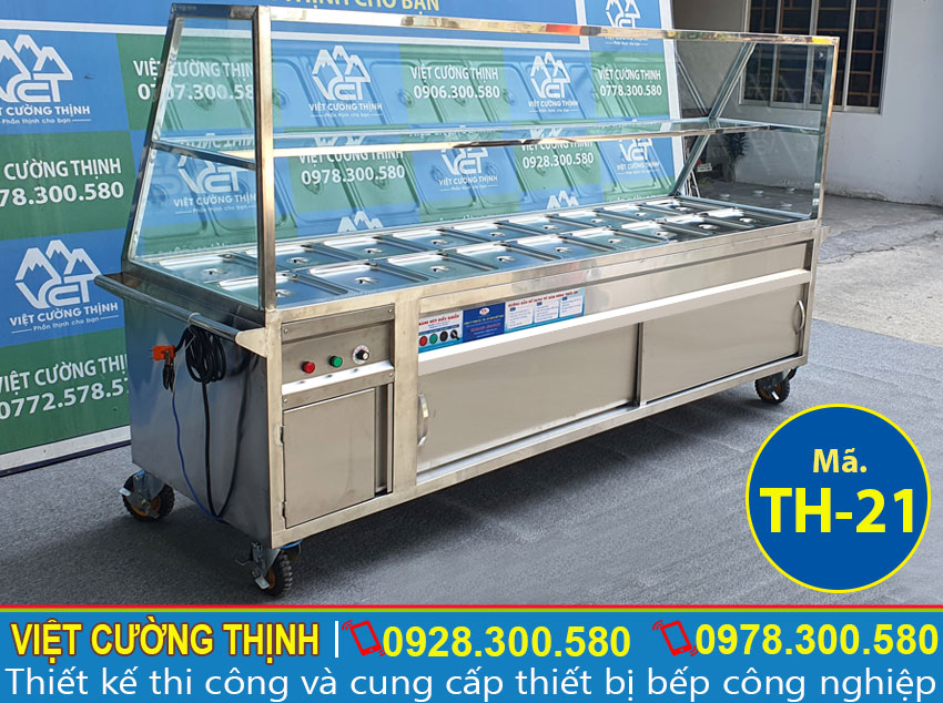 Báo giá tủ giữ nóng thức ăn công nghiệp tại TPHCM.